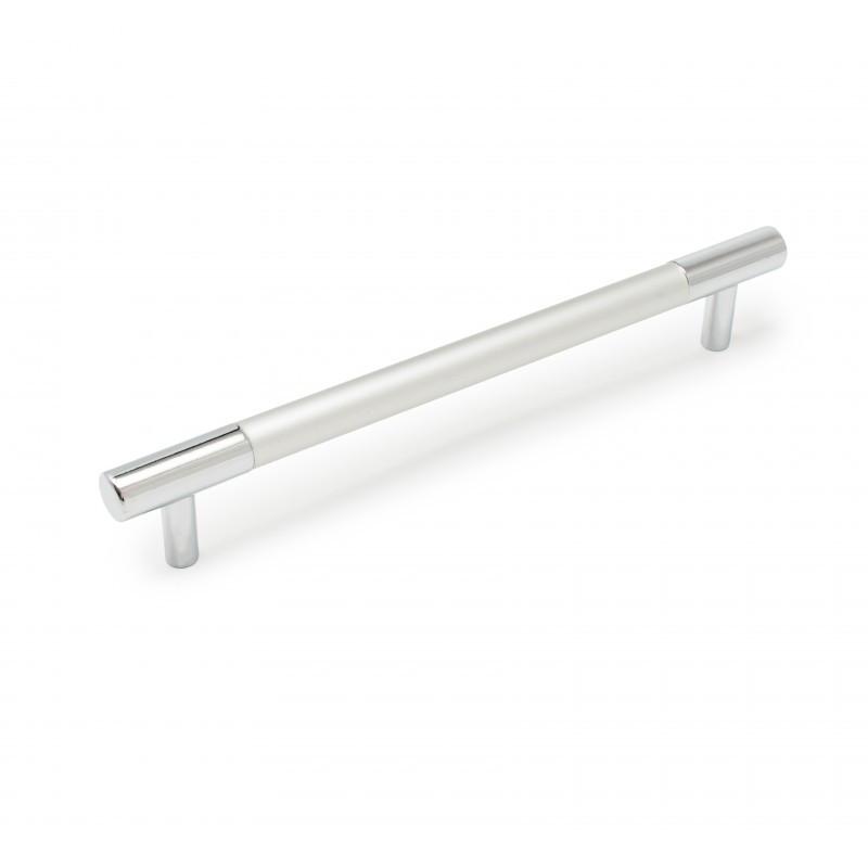 Ручка меблева Ozkardesler BOY CULP 14.102 160мм хром/хром мат