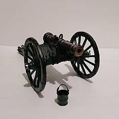 Британська 9-ти фунтова гармата   Період наполеонівських воєн   В масштабі 1:32