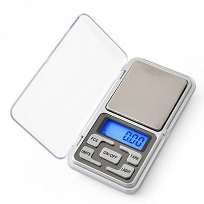Весы электронные Kitchen MH-500 высокоточные 0,1-500г Черный (20053100298)