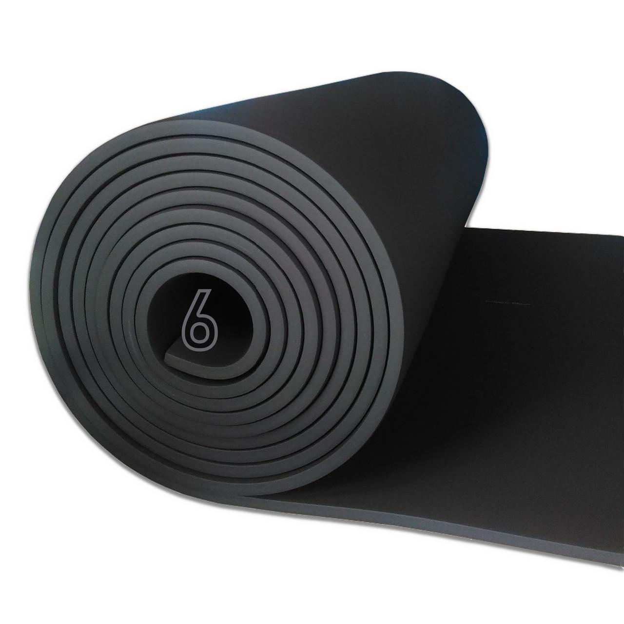 Вспененный каучук 6 мм цена за рулон (утеплитель, шумоизоляция)
