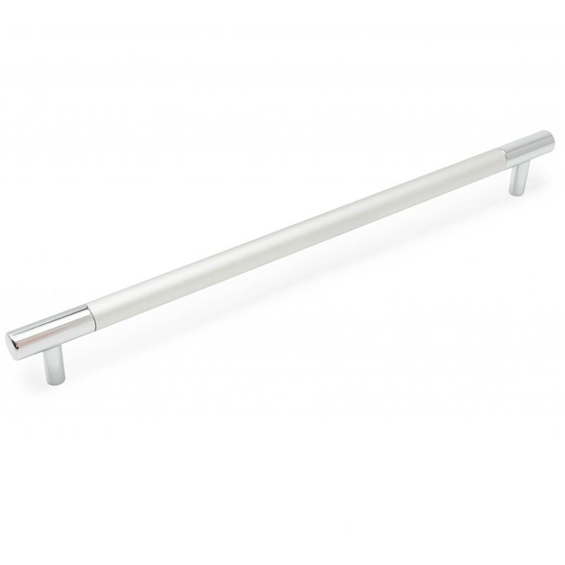 Ручка мебельная Ozkardesler BOY CULP 14.105 256мм Хром/Матовый хром