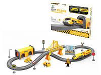 Детская железная дорога дорожные работы