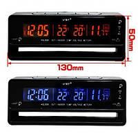 Автомобильные часы (термометр, вольтметр) VST-7010V