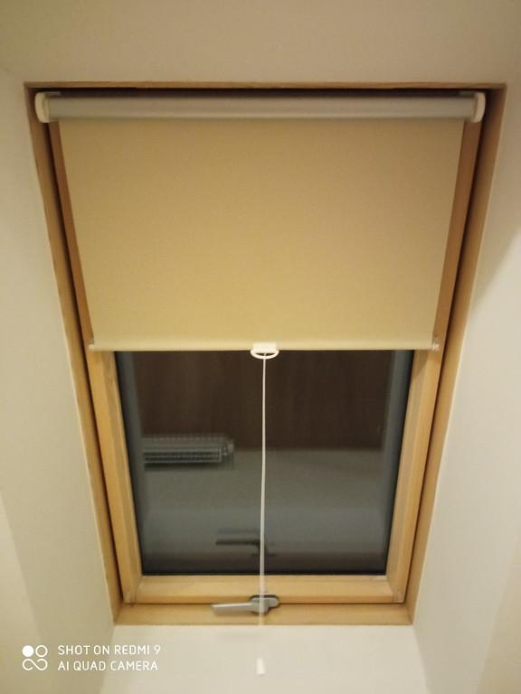 Ролеты тканевые на Мансардные окна - Открытая система для мансардных окон на пружинном механизме