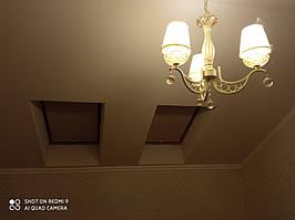 Ролеты тканевые на Мансардные окна - Открытая система для мансардных окон на пружинном механизме 6