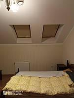 Комната в стиле Прованс с мансардными окнами
