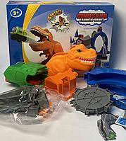 Трек динозавр з паровозиками 331303, фото 1