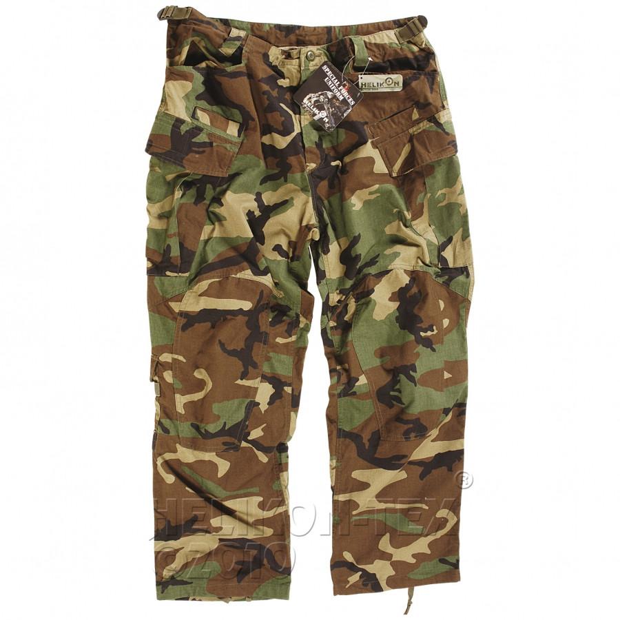 Тактические штаны Helikon SFU - US Woodland (Cotton Ripstop)