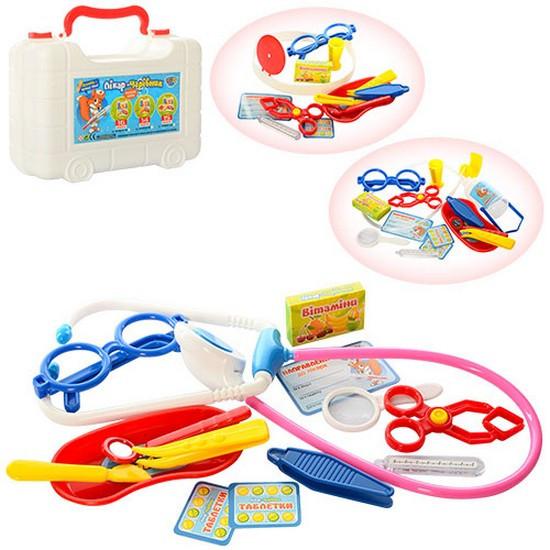 Набір лікаря Limo Toy ABC U/R
