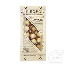 """Шоколад молочний """"Leopol"""" солона карамель 95g"""