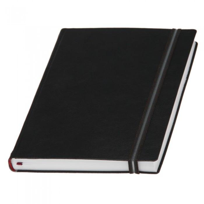 Ежедневник полудатированный А5 для нанесения логотипа, Дакар Премиум Эластик