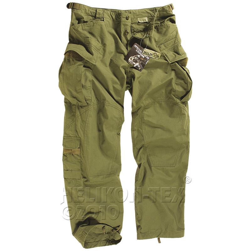 Тактические штаны Helikon SFU - Olive (R/S)