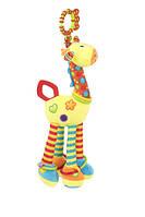 """Мягкая игрушка-подвеска на кроватку Baby Team """"Жираф"""""""