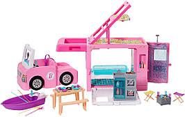Барби Кемпер трейлер мечты 3 в 1 Barbie 3-in-1 DreamCamper GHL93