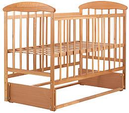 Кровать Наталка ОСМ, маятник, ольха светлая, 620811