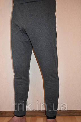 Подштанники мужские серые темные, фото 2
