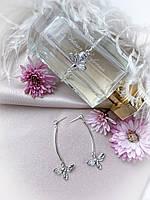Комплект украшений: серьги и браслет с пчёлами, фото 1