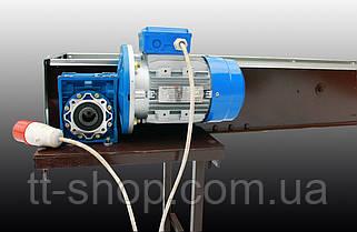 Стрічковий конвеєр довжиною 14 м, ширина стрічки 1000 мм дв 5,5 кВт., фото 3
