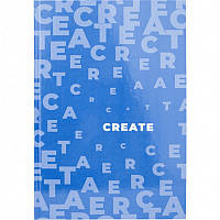 Книга записна AXENT Pastelini Блакитна А4 у клітинку 96л тверда обкладинка, фото 1