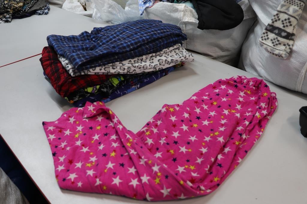 Секонд хенд, Пижамные штаны м/ж флис,фланель 1,2с зима/демисезон Канада