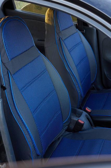 Чехлы на сиденья Опель Омега Б (Opel Omega B) (универсальные, автоткань, пилот)