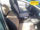Чехлы на сиденья Опель Омега А (Opel Omega A) (универсальные, экокожа+Алькантара, с отдельным подголовником), фото 3