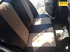 Чехлы на сиденья Опель Омега А (Opel Omega A) (универсальные, экокожа+Алькантара, с отдельным подголовником), фото 4