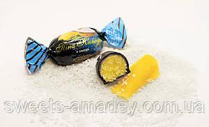 Конфеты Пина Колада в глазури, Амадей, 1 кг