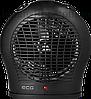 Тепловентилятор ECG TV 30 black 2000 Вт