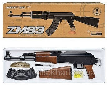 Zm93 Детский автомат Калашников АК-47, Металлический, Оригинал