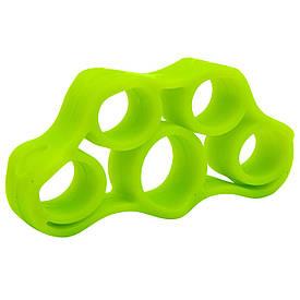 Эспандер кистевой для развития пальцев (1шт) FI-6871 (силикон, цвета в ассортименте)