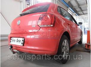 Фаркоп Volkswagen Polo 2011-  (Фольксваген Поло) , фото 2