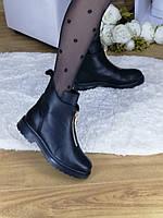 Женские ботинки ГЛАДКАЯ КОЖА Verina 089 В наличии 35,36,37,38,39,40,41,42 на байке/мех по желанию