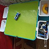 Игровой столик и стульчик с конструктором City Police 371, фото 5