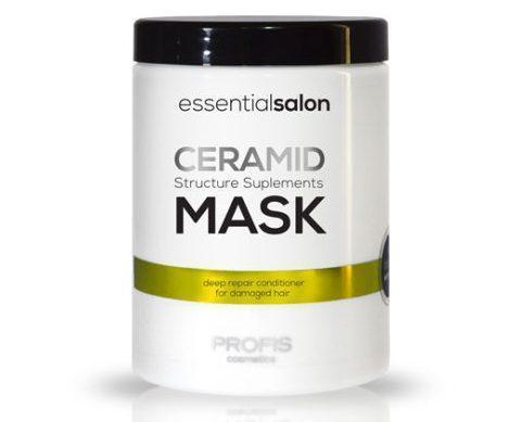 Маска для поврежденных волос Ceramid 1000 мл Profis