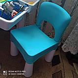 Игровой столик и стульчик с конструктором City Police 371, фото 4