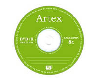 Artex DVD+R 8,5 GB 8x Double layer Bulk/50 (CMC Magnetics)