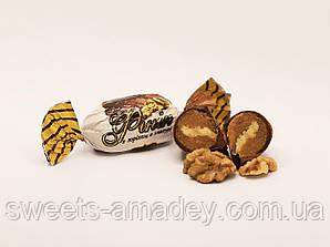 Конфеты Финик с грецким орехом в глазури, Амадей, 1 кг