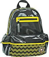 """Рюкзак підлітковий """"Oxford"""" 552008 чорно-жовтий 25,5*13*35см XO88, шт"""