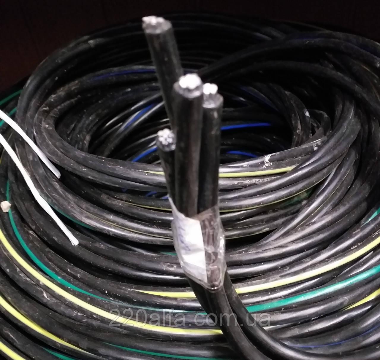 Самонесущий алюминиевый провод СИП-4 нг 4х25