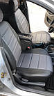 Чехлы на сиденья Мерседес Вито (Mercedes Vito) 1+1  (универсальные, кожзам, с отдельным подголовником), фото 2