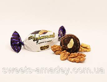 Конфеты Чернослив с грецким орехом в глазури, Амадей, 1 кг
