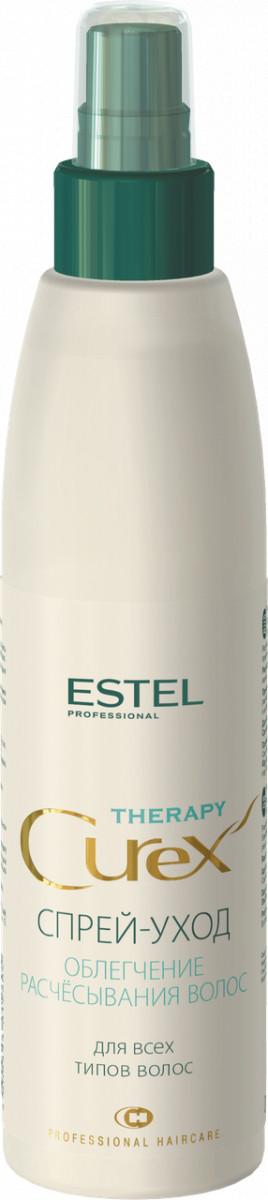 Спрей-уход для облегчения расчесывания для всех типов волос Estel CUREX THERAPY 200 мл