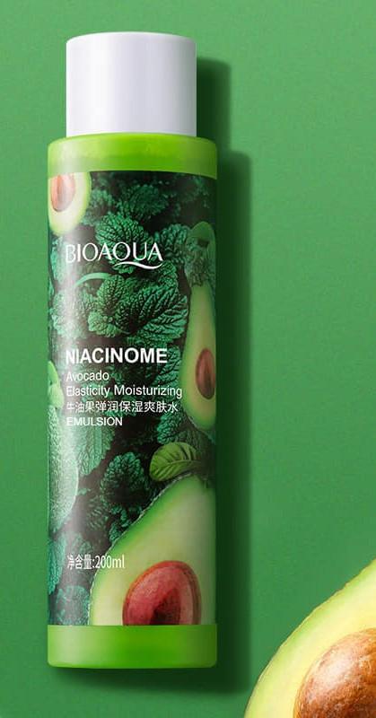 Питательная эмульсия для лица и тела с авокадо Bioaqua Niacinome Avocado Emulsion Kod191