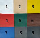 Чехлы на сиденья Рено Трафик (Renault Trafic) 1+1 (универсальные, кожзам, с отдельным подголовником), фото 7