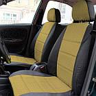 Чехлы на сиденья Рено Трафик (Renault Trafic) 1+1 (универсальные, автоткань, с отдельным подголовником), фото 6