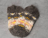 Шерстяные носки, носки из козьего пуха, теплые носки, зимние носочки, женские носки, фото 1