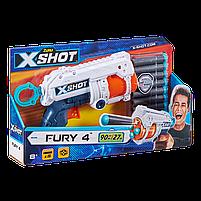 Скорострільний бластер X-Shot Excel Fury 4 (16 патронів) (36377Z), фото 2