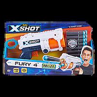 Скорострільний бластер X-Shot Excel Fury 4 (16 патронів) (36377Z), фото 3