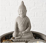 Декоративный набор «Дзен» подсвечник с фигурой Будды D19 см, фото 7